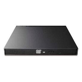 ロジテック USB2.0 ポータブル DVDドライブ ブラック DVD ドライブ 薄型 ブラック LDR-PMK8U2LBK