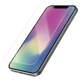 エレコム iPhone 12 Pro Max ガラスフィルム ブルーライトカット 反射防止 PMCA20CFLGGBLM