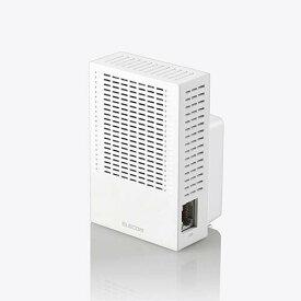 エレコム 無線LAN中継器 Wi-Fi 5 (11ac) 867+300Mbps 無線LAN 中継器 11ac.n.a.g.b 867+300Mbps ホワイト WTC-C1167GC-W