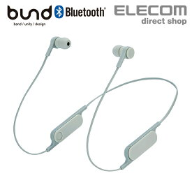 """Bluetooth ワイヤレス ヘッドホン FASTMUSIC """"bund"""" リモコンマイク付き ブルートゥース ヘッドセット 両耳 イヤホン 通話 オリーブカーキ LBT-HPC14MPGN"""