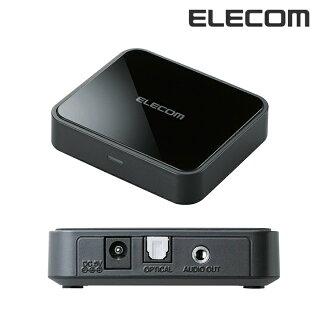 【送料無料】Bluetoothオーディオレシーバー光デジタル/ステレオミニ出力Bluetooth3.0ブラック:LBT-AVWAR700【ELECOM(エレコム):エレコムダイレクトショップ】