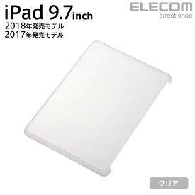 エレコム iPad (第6世代) ハイブリッドケース Smart Cover対応 クリア TB-A18RHVCKCR