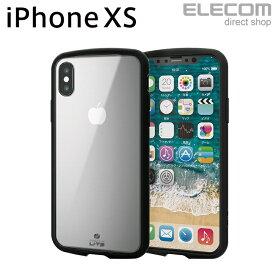 エレコム iPhone XS ケース 耐衝撃 TOUGH SLIM LITE クリア スマホケース iphoneケース PM-A18BTSLCCR