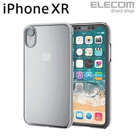 エレコム iPhone XR ケース 高硬度 エクストラハードシェルカバー ユーピロン クリア スマホケース iphoneケース PM-A18CUPCR