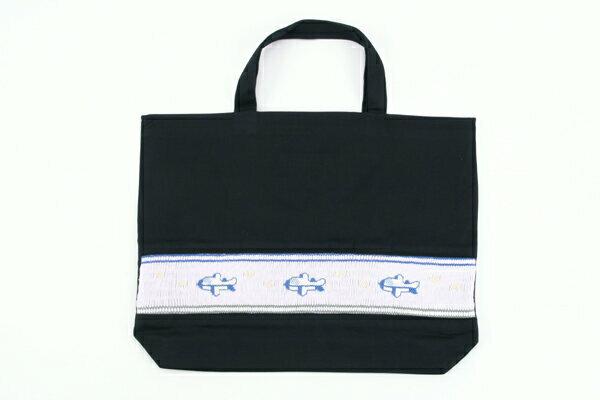 スモッキング手刺繍レッスンバッグ ひこうき【お受験バッグの●エレガンテ・ポポ】【あす楽対応商品】【送料無料】