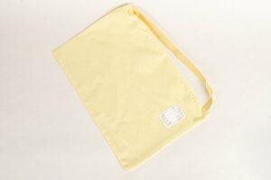 [ポスト投函送料無料] 防災頭巾カバー 日本製 難燃繊維カネカロンを使用! 無地イエロー ジュニアサイズ/高学年〜大人用サイズ