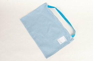 [ポスト投函送料無料] 防災頭巾カバー 日本製 難燃繊維カネカロンを使用! 無地ブルー ジュニアサイズ/高学年〜大人用サイズ