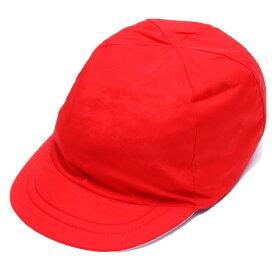 [ポスト投函送料無料] 安心の日本製 綿100% 洗えるソフトタイプ紅白帽 日清紡生地使用【お受験スーツの●エレガンテポポ】