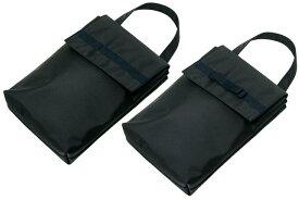 [ポスト投函送料無料] 日本製 かぶせ蓋つきシューズケース  無地/リボン付き【お受験バッグのエレガンテ・ポポ】