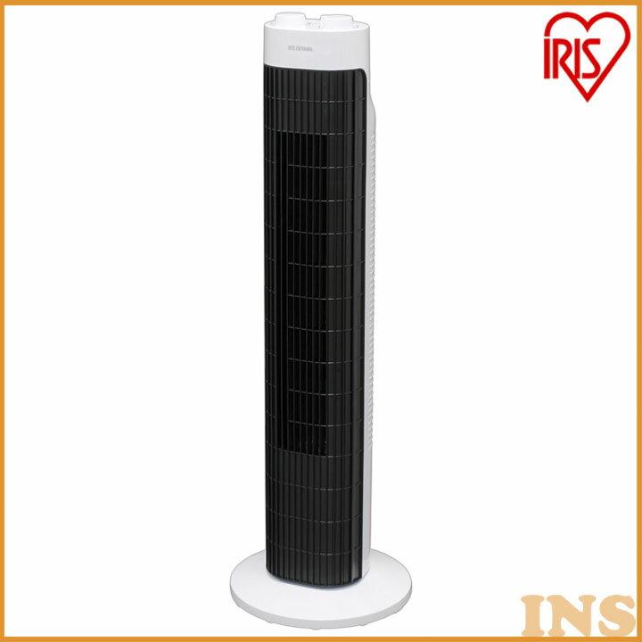 タワーファン メカ式 TWF-M72あす楽対応 送料無料 扇風機 リビング扇風機 ファン スリムファン 縦型 タワー 省スペース コンパクト 首振り タイマー リビング 季節家電 ダイヤル式 アイリスオーヤマ