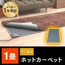 ホットカーペット 1畳 本体 電気カーペット 90×180 グレー1畳 本体ホットカーペット 一人用 長方形 電気カーペット …