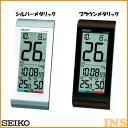 掛置き兼用電波時計 セイコー SQ431B・SQ431S ブラウンメタリック・シルバーメタリック【TC】【HD】(時計/ブランド/…