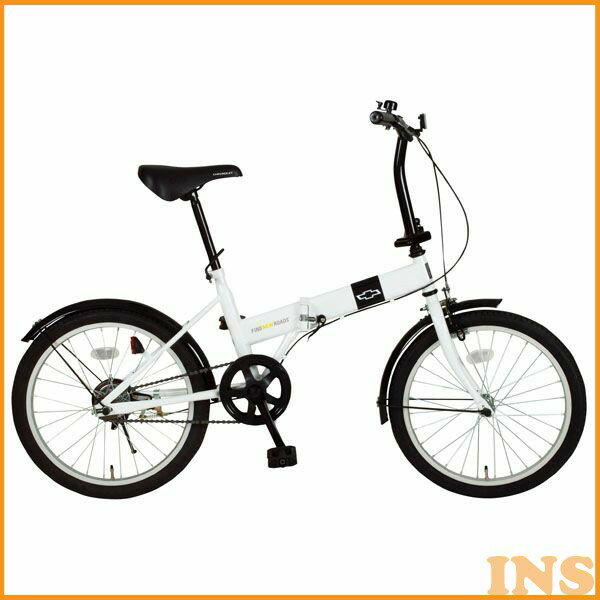 【折りたたみ自転車】CHEVROLET FDB20R【20インチ】ミムゴ MG-CV20R・ホワイト【TD】【送料無料】