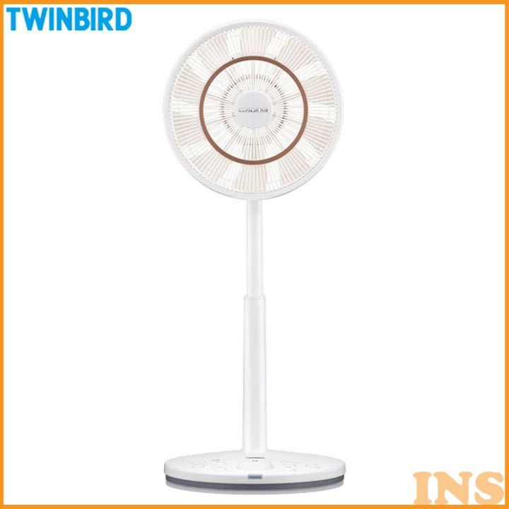 コアンダエア ホワイト EF-DJ68W 扇風機 おしゃれ サーキュレーター リモコン タイマー 首振り ツインバード TWINBIRD 【TC】 【TW】【送料無料】