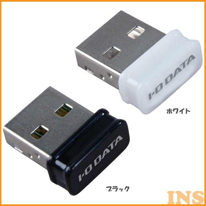 11n準拠 150Mbps 超小型 無線LANアダプター WN-G150UMWネットワーク 無線LAN USB 子機 ネットワークUSB ネットワーク子機 無線LANUSB USBネットワーク 子機ネットワーク USB無線LAN アイ・オー・データ機器 ブラック ・ホワイト【TC】