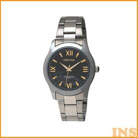 [15日★最大P9倍]CROTON 腕時計 紳士 RT-168M-A腕時計 リストウォッチ メンズ 生活防水 日本製 クロトン 腕時計メンズ 腕時計日本製 リストウォッチメンズ メンズ腕時計 日本製腕時計 メンズリストウォッチ 和工 【D】