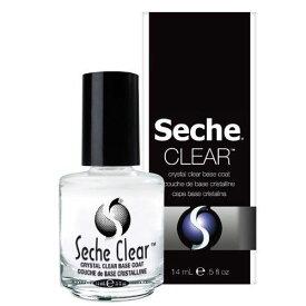 新品 送料無料 箱なし 新ボトル Seche clear クリアベースコート 14mL clear base ベース Seche Vite セシェ ヴィート ベースコート クリア ネイルカラー ネイリスト マニキュア セルフネイル ネイルグッズ セシェベース ネイル