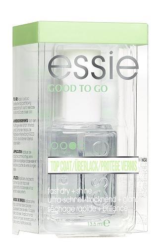 新品 送料無料 箱付き(箱痛みあり) Essie エッシー グッド トゥ ゴー トップコート 13.5ml Good to Go Top Coat 速乾性 ネイルトリートメント トップコート セルフネイル  / ネイルグッズ togo
