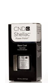 新品 送料無料 CND SHELLAC パワーポリッシュ シーエヌディー シェラック UVベースコート 7.3ml Power polish CND basecoat ベースコート セルフネイル UV専用  サンディング不要 / ネイルグッズ