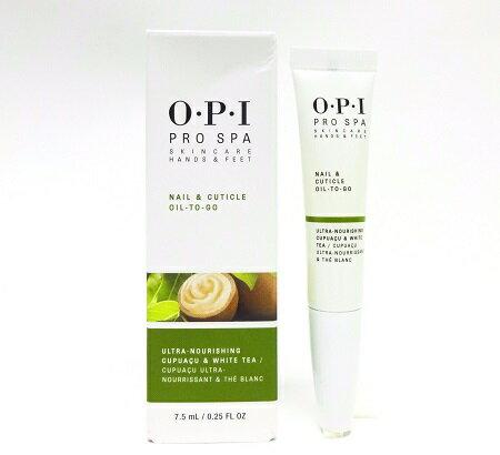 OPI 【送料無料】 新品 箱付き OPI PRO SPA プロスパ OIL to go キューティクルオイル トゥーゴー 7.5ml togo OPI oil キューティクルオイル ネイルオイル プロ スパ TOGO プロスパオイル オーピーアイ