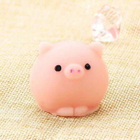 新品 送料無料 スクイーズ ブタ ピグ pig 小サイズ 低反発 ぬいぐるみ おもちゃ 動物 かわいい ストラップ 握る ストレス解消 もちもち