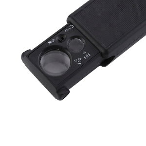 送料無料 新品 ミニルーペ 30倍 60倍拡大 LEDルーペライト 虫眼鏡ミニ 拡大鏡