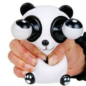 スクイーズ 目が飛び出るパンダ PANDA パンダ 低反発 ぬいぐるみ おもちゃ 動物 かわいい 握る ストレス解消 もちもち 【若干汚れある場合有 】 新品 送料無料