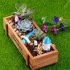 신품 목제 플라워 가드닝 planter 장식 박스뜰리빙 플라워 가드닝꽃인테리어