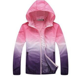 Choice windbreaker raincoat rain outfit jacket jacket medium size outer men gap Dis is new from four colors of rainwear man and woman combined use windbreaker pink colors