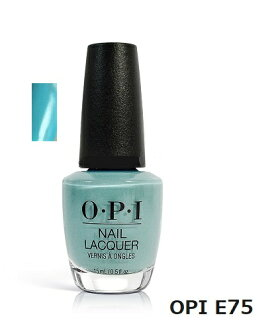 OPI nail nail color OPI NL E75 15 ml OPI manicure nail lacquer Opie eye aqua blue OPI color manicure nail specialist self-nail