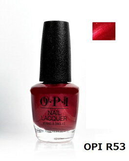 OPI nail nail color OPI NL R53 15 ml OPI manicure nail lacquer Opie eye red system wine red OPI color manicure nail specialist self-nail