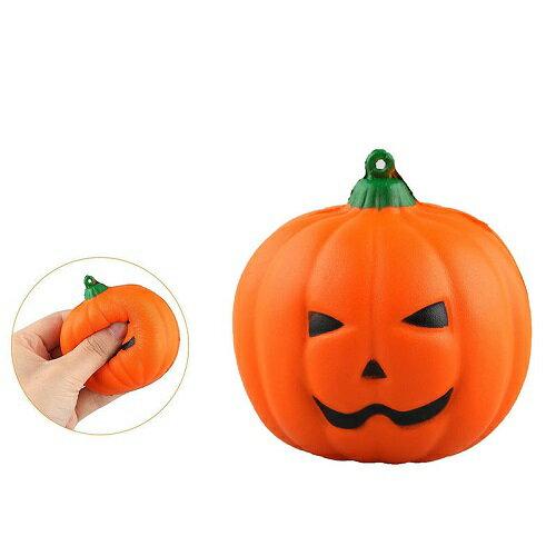 新品 送料無料 専用袋無し スクイーズ かぼちゃ カボチャ 低反発 ぬいぐるみ おもちゃ 動物 かわいい ストラップ 握る ストレス解消 もちもち