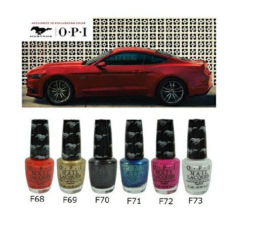 新品 送料無料 OPI ネイルラッカー フォード マスタング F68-F73 15ml マニキュア ネイルカラー ネイリスト ネイルポリッシュ OPIカラー セルフネイル ネイルグッズ NL F68 F69 F70 F71 F72 F73 カラー