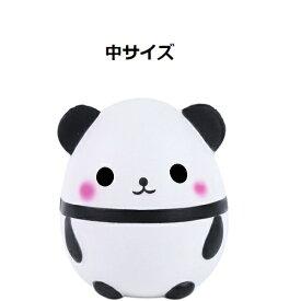 中サイズ 卵型 パンダ スクイーズ ぱんだ 低反発 ぬいぐるみ おもちゃ 動物 かわいい 握る ストレス解消 もちもち 新品 スクイーズ パンダ 新品 送料無料