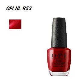OPI ネイル ネイルカラー OPI NL R53 15ml OPI マニキュア ネイルラッカー オーピーアイ レッド系 ワインレッド OPI カラー マニキュア ネイリスト セルフネイル 【送料無料】