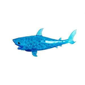 サメ バブルボール ブルー シャーク スクイーズ 低反発 ぬいぐるみ おもちゃ 動物 かわいい 握る ストレス解消 もちもち 新品 【送料無料】