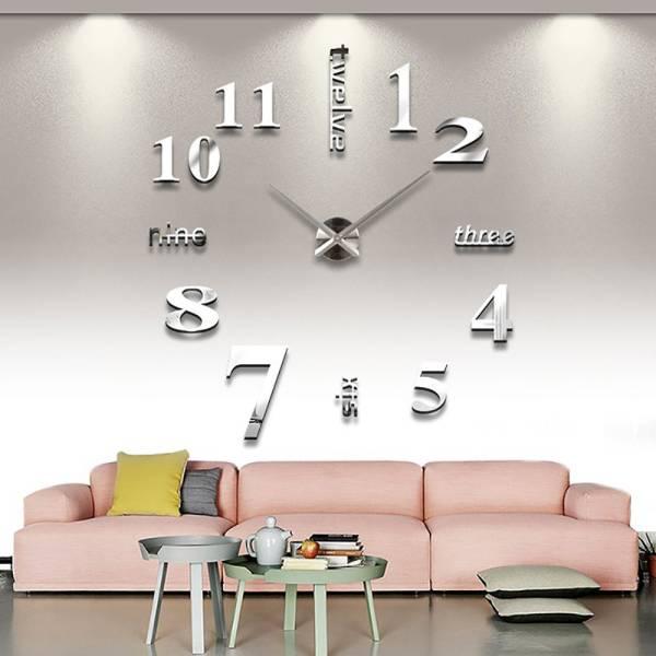送料無料 新品 外箱に痛み有り●壁に貼る  壁時計 ウォールクロック ステッカー●DIY ウォールクロック 時計 ウォールステッカー●ウォールクロック