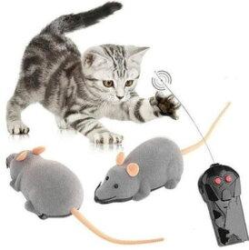 送料無料 新品 猫のおもちゃ 電動ネズミ リモコン操作 ペット用品 愛猫 ねこのおもちゃ ねずみ ラジコン マウス