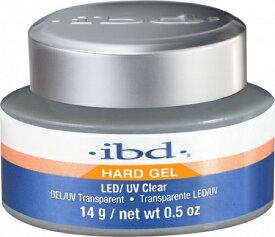 ibd クリアジェル 14g LED&UV対応 NEWボトル ハードジェル クリア 0.5oz hard gel 14g LED対応 ネイリスト セルフネイル ハードジェル LED&UV対応 ネイルグッズ 【LEDライト対応】新品 送料無料