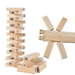 おもちゃ 早期 知育玩具 積み木ブロック 54個+サイコロ4個セット 木製 キッズ ナンバー 数字 組み立て 学習 カラフル 創造力 構成遊び 空間認知 【送料無料】 新品