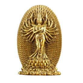 仏像 珍品種 彫像 ご本尊 菩薩部 大菩薩 大仏 約26cm 通肩 頂髻相 錆感 造物 木器質 茶銅質 偏袒右肩 造形美 工芸品 並行輸入品 送料無料 新品