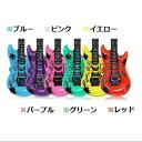 ビーチギター 約45cmサイズ カラー選択可能 イベント パーティー エアギター 遊戯 おもちゃ ビーチバレー 遊び ミニ浮…