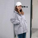 レディース 韓国ファッション マウンテンパーカー マンパ フード付き ジャケット ブルゾン アウター コート カジュア…