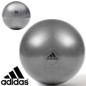 アディダス adidas hardware ジムボール 55cm バランスボール 空気入れ付き ヨガボール フィットネスボール ダイエットボール 体感トレーニング トレーニング ヨガ ストレッチ エクササイズ フィ