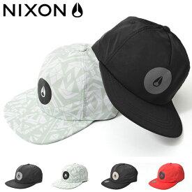 半額 50%off ベースボールキャップ NIXON ニクソン メンズ COLESY SNAPBACK 帽子 CAP ロゴ スケボー BBキャップ スナップバック