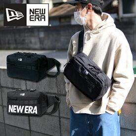 送料無料 スクエアウエストバッグ NEW ERA ニューエラ ロゴ SQUARE WAIST BAG ショルダーバッグ バッグ 約7L ボディバッグ メンズ レディース ロゴ ポーチ スタッフサック ショルダーポーチ メッセンジャー 斜め掛け バッグ カバン 鞄 2019春夏新作 10%off