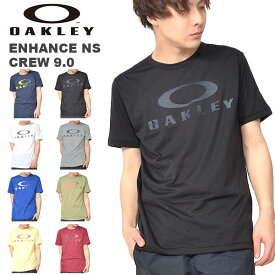 半袖 Tシャツ OAKLEY オークリー Enhance Technical QD Tee.19.01 メンズ ロゴ シャツ スポーツ トレーニング 吸汗速乾 プリント Tシャツ 2019春夏新作 得割20