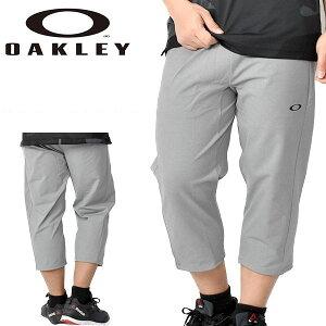 送料無料 得割30 七分丈 フリース パンツ OAKLEY オークリー メンズ Enhance LT Fleece 3/4 Pants 10.0 7分丈 スウェット ロングパンツ トレーニング ランニング ジム スポーツ グレー FOA400825 27B