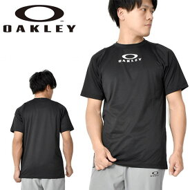 得割30 半袖 シャツ OAKLEY オークリー Enhance SS Crew 10.0 メンズ Tシャツ ランニング トレーニング ジム スポーツ ウェア ブラック 黒 FOA400841 02E 2020春夏新作