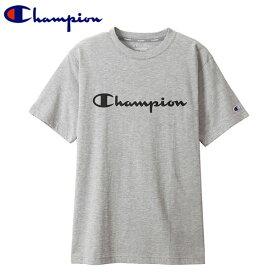 30%OFF 半袖 Tシャツ チャンピオン Champion メンズ ロゴ 速乾 スポーツウェア トレーニング ジム スポーツカジュアル スポカジ グレー 2020春夏新作 C3-RS308【あす楽対応】